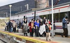 El tren de las Emociones une Segovia y El Espinar