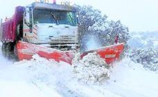 La Diputación refuerza su dispositivo para combatir la nieve este invierno