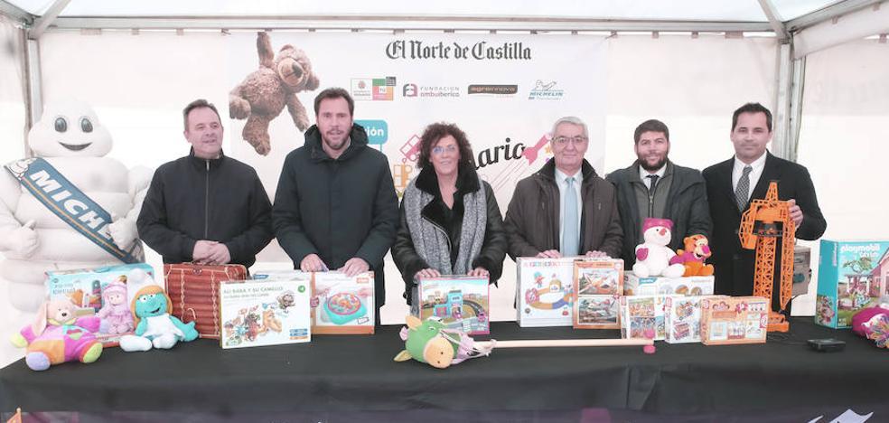 La campaña Juguete Solidario bate su propio récord y recoge cerca de 28.000 unidades en Valladolid