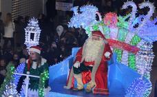 Cabalgata de Papá Noel en Palencia