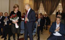 Vicente Villagrá recibe la medalla de honor de la Cámara de Comercio de Palencia