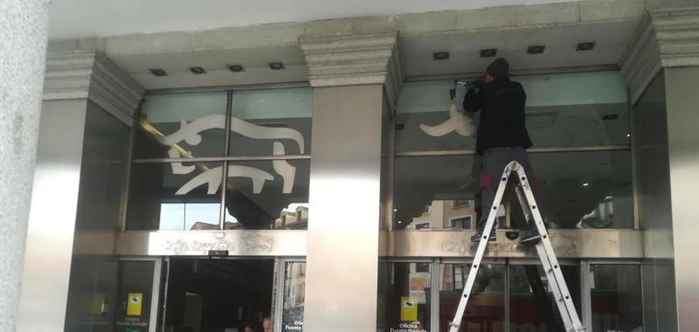 Unicaja inicia el cambio de imagen de más de 415 oficinas de Caja EspañaDuero