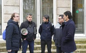Los funcionarios de prisiones se quejan en Palencia de «desprecio» por parte del Gobierno