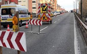 Las obras en Arco de Ladrillo de Valladolid se prolongan «de forma previsible» hasta este miércoles