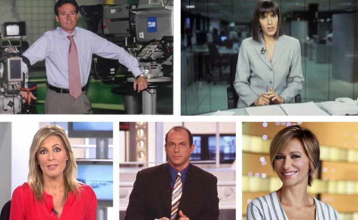 Así han cambiado los rostros más populares de los informativos