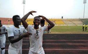 Owusu, del Salamanca CF, lidera con un hat-trick la victoria de Ghana sub-23 ante Togo