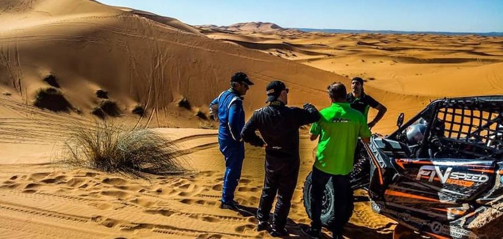 Roberto Carranza hace historia con su participación en el Dakar