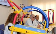 Los niños ingresados en el Clínico harán deporte en un minigimnasio