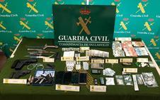 Desmantelan en Tudela una de las redes de distribución de drogas más importantes en la provincia