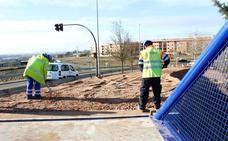 El carril bici y la senda peatonal a Cabrerizos estarán listos a mediados del mes de enero