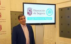 José Luis Sanz Merino, candidato del PP a la Alcaldía de Segovia
