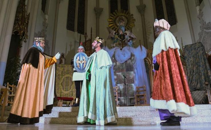 Adoración de los Reyes Magos en Valladolid