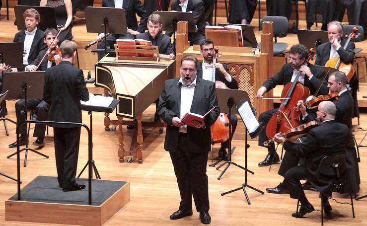300 voces cuentan 'El Mesías' de Händel en el Auditorio Miguel Delibes de Valladolid