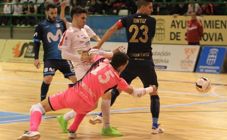 Derrota del Segovia Futsal ante el Inter