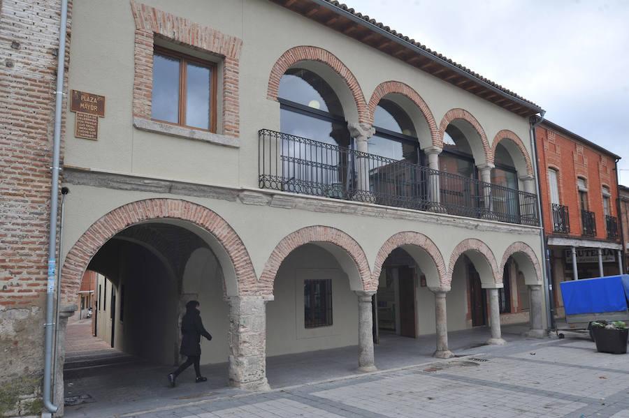 Investigado por vaciar un solar del yacimiento 'Villa de Olmedo' y destruir restos de la Edad Media