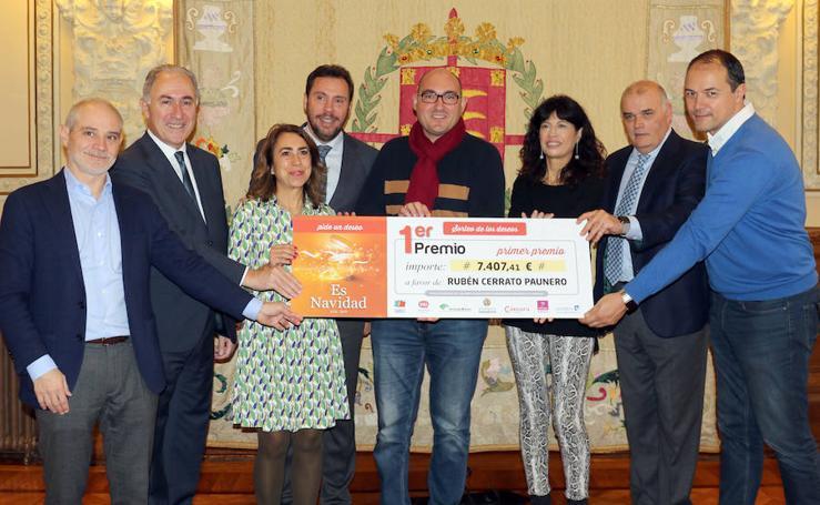 Entrega de premios del Árbol de los Deseos en Valladolid