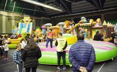 Continúan las Navichulis en Carbajosa con un parque infantil lleno de atracciones