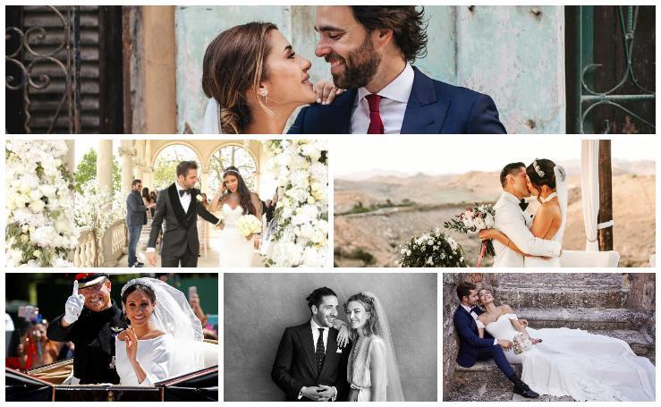 Las bodas de los famosos que se han celebrado 2018
