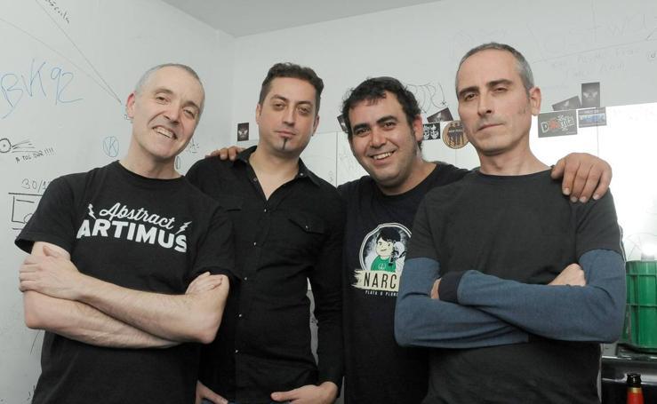 Los Principiantes en la sala Black Pearl de Valladolid