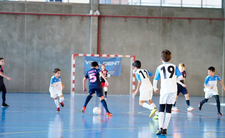 Torneo Hazme Sonreír de fútbol sala en Salamanca