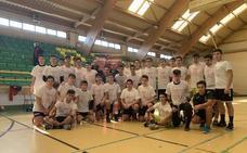 San Agustín inaugura la cuarta edición del Clinic Solidario de balonmano