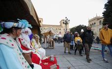 Un belén viviente muy reivindicativo en la plaza de Los Bandos