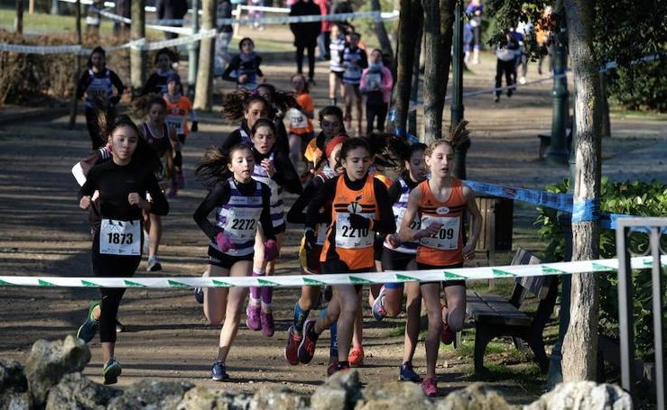 XXXV Cross Rondilla 'Las 12 uvas': categoría junior y juvenil masculino y femenino