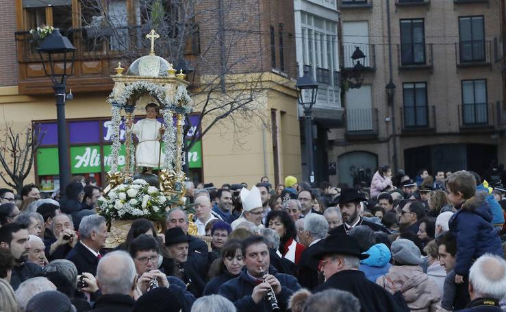 Fiesta del Bautizo del Niño en Palencia