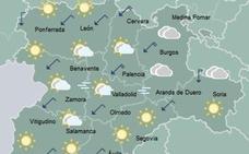 La fría madrugada deja temperaturas de hasta -8,7 grados en Castilla y León