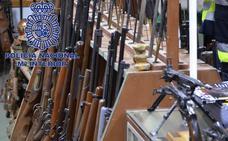 La 'canibalización' irrumpe en el tráfico ilegal de armas en España