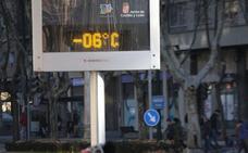 Valladolid amanece con temperaturas de hasta 8,7 grados bajo cero