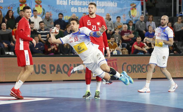 España 34 - 28 Polonia