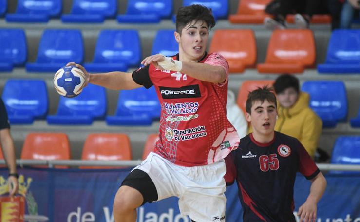 Tercera jornada del Campeonato de Selecciones Autonómicas de balonmano que se celebra en Valladolid