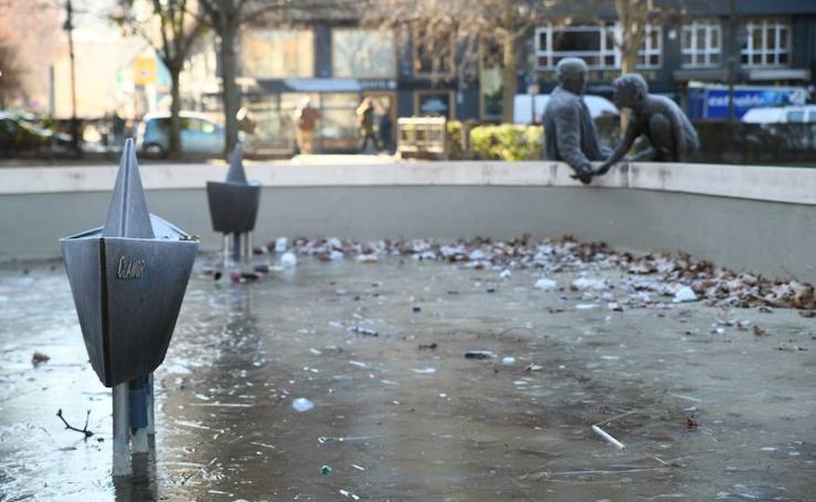 La provincia de Valladolid amanece con temperaturas bajo cero