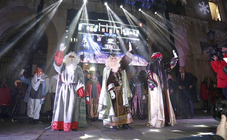 Cabalgata de Reyes en Palencia