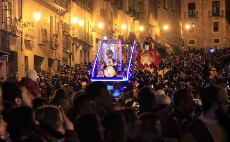 Segovia recibe a los Reyes Magos de Oriente