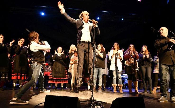 Concierto de Carlos Núñez en el Auditorio de El Espinar