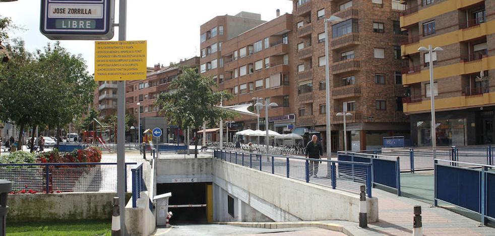 El acceso al 'parking' de José Zorrilla se retrasa un mes más