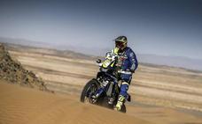 Santolino pasa las verificaciones técnicas y este domingo debuta en el Dakar