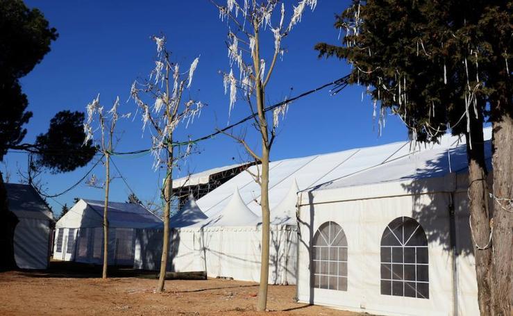 Preparativos en el rebautizado como Nido de Pingüinos, en Valladolid