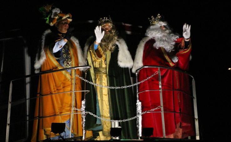 Los Reyes Magos visitan Medina de Rioseco, Ciudad Europea de la Navidad