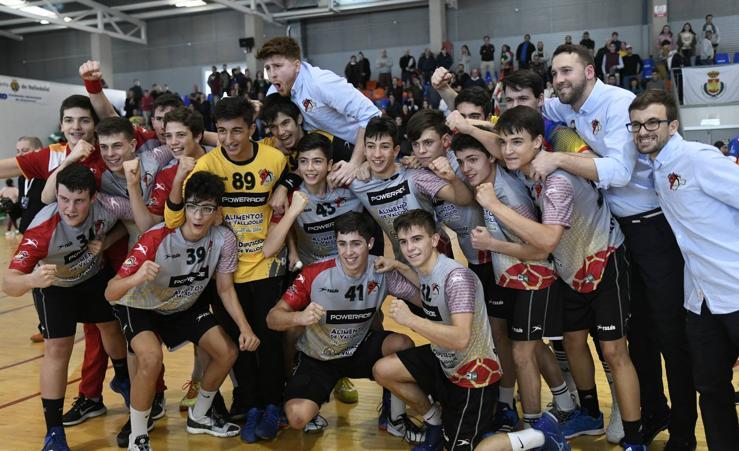 El cadete masculino de Castilla y León vence al Comunidad Valenciana