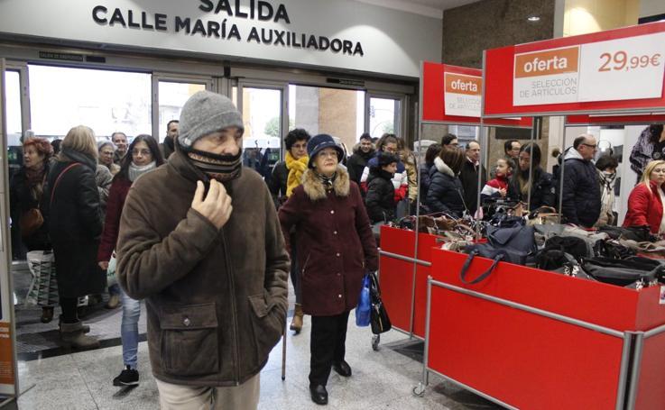 Arrancan las rebajas de invierno en Salamanca
