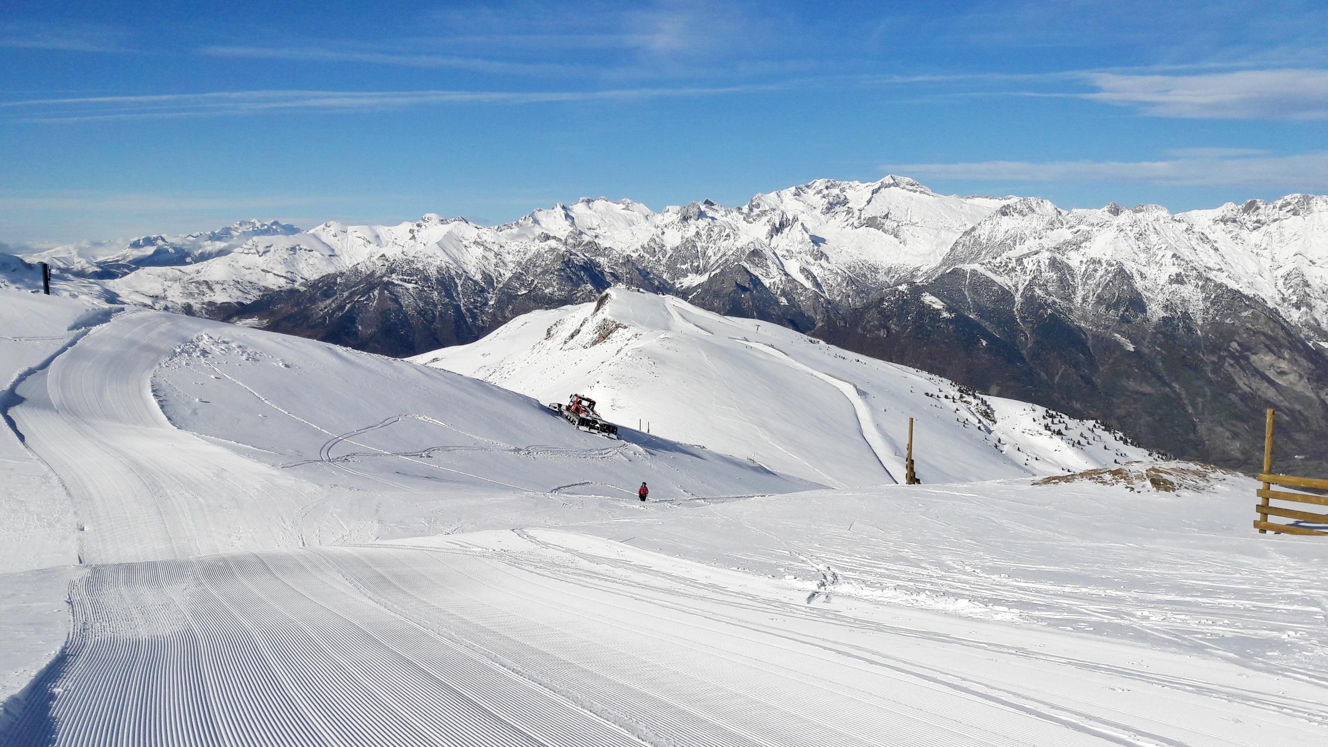 Vuelve el paraíso de la nieve