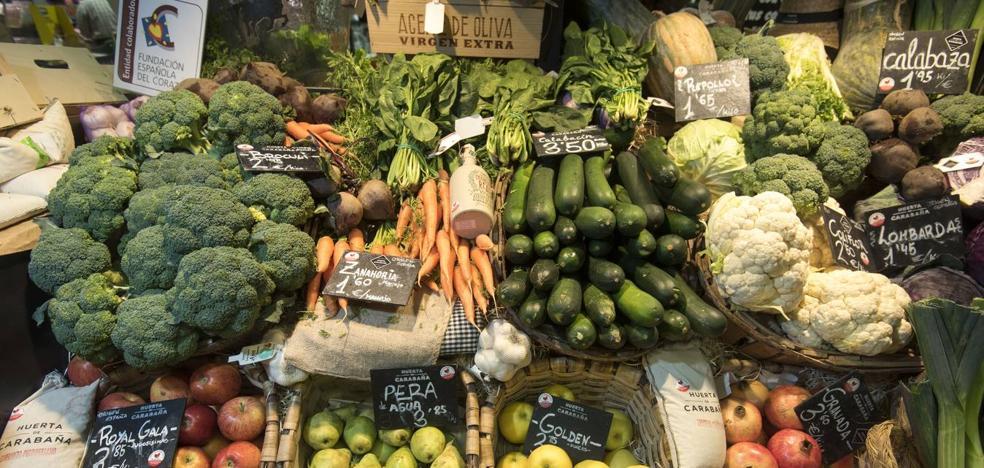 Primer propósito de 2019: comer más fruta y verdura