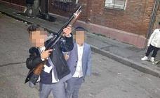 Los tres autores de los tiros de fin de año huyen de sus casas en Las Viudas y Pajarillos