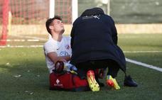 Alberto se vuelve a lesionar el tobillo y estará de baja al menos dos semanas en el Santa Marta