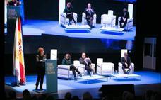 Los ministros de Fomento, Cultura, Política y Territorial y la vicepresidenta del Gobierno, en el Think Europe 2019
