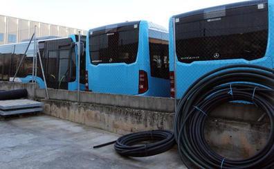 Los nuevos autobuses urbanos ya están en Segovia
