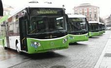 Presentación de seis nuevos autobuses híbridos eléctricos de Auvasa